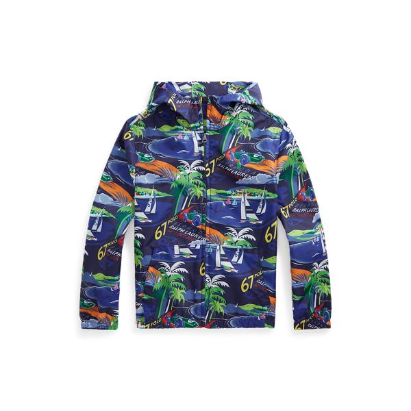 폴로 랄프로렌 Polo Ralph Lauren Ripstop Hooded Jacket,Multi
