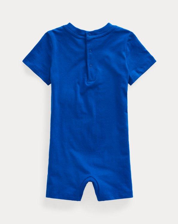 Polo Bear Cotton Jersey Shortall