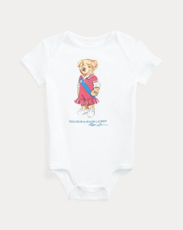 Body bébé Polo Bear en coton
