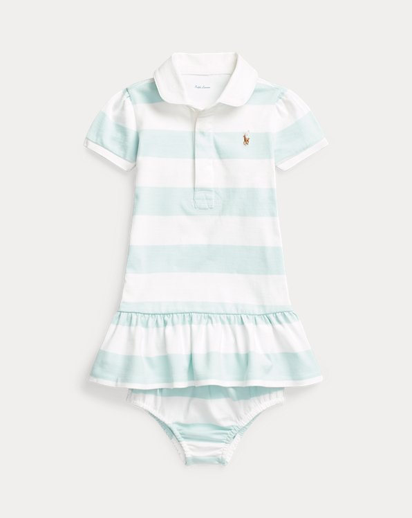 Robe rugby rayée et bloomer
