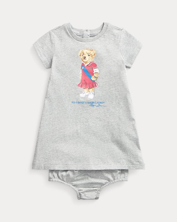 Polo Bear Dress and Bloomer