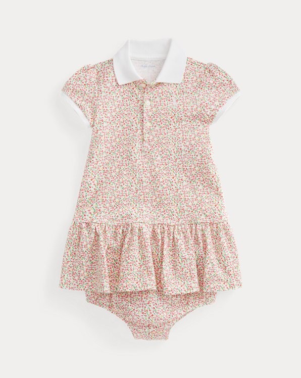 Floral Polo Dress & Bloomer