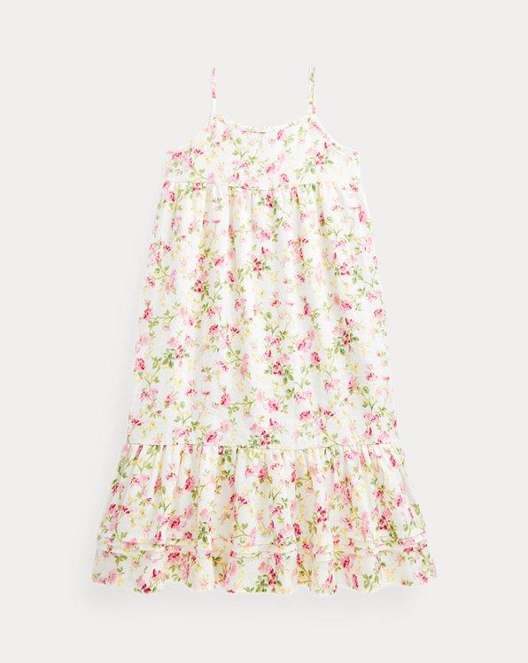 Floral Linen Maxidress