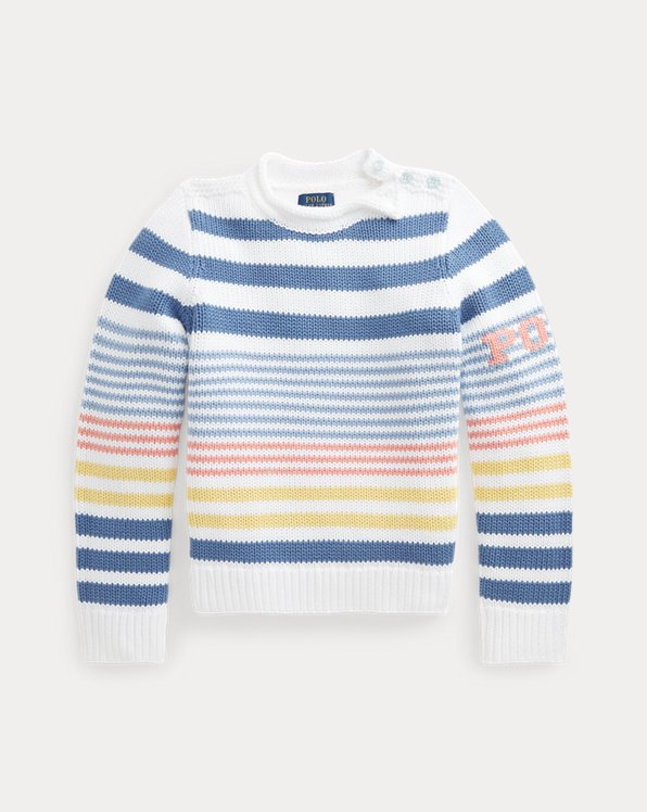 Striped Cotton Sweater