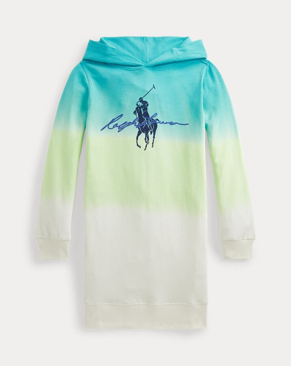 Big Pony Ombré Spa Terry Dress