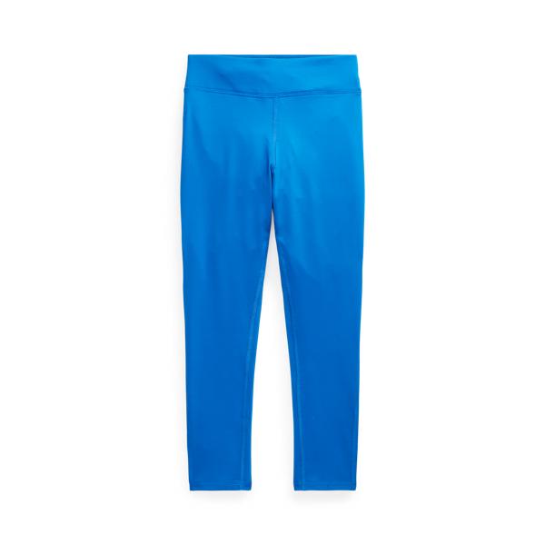 폴로 랄프로렌 Polo Ralph Lauren Logo Stretch Jersey Legging,Metro Blue