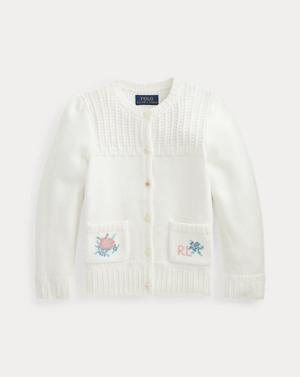 Floral Cotton Cardigan
