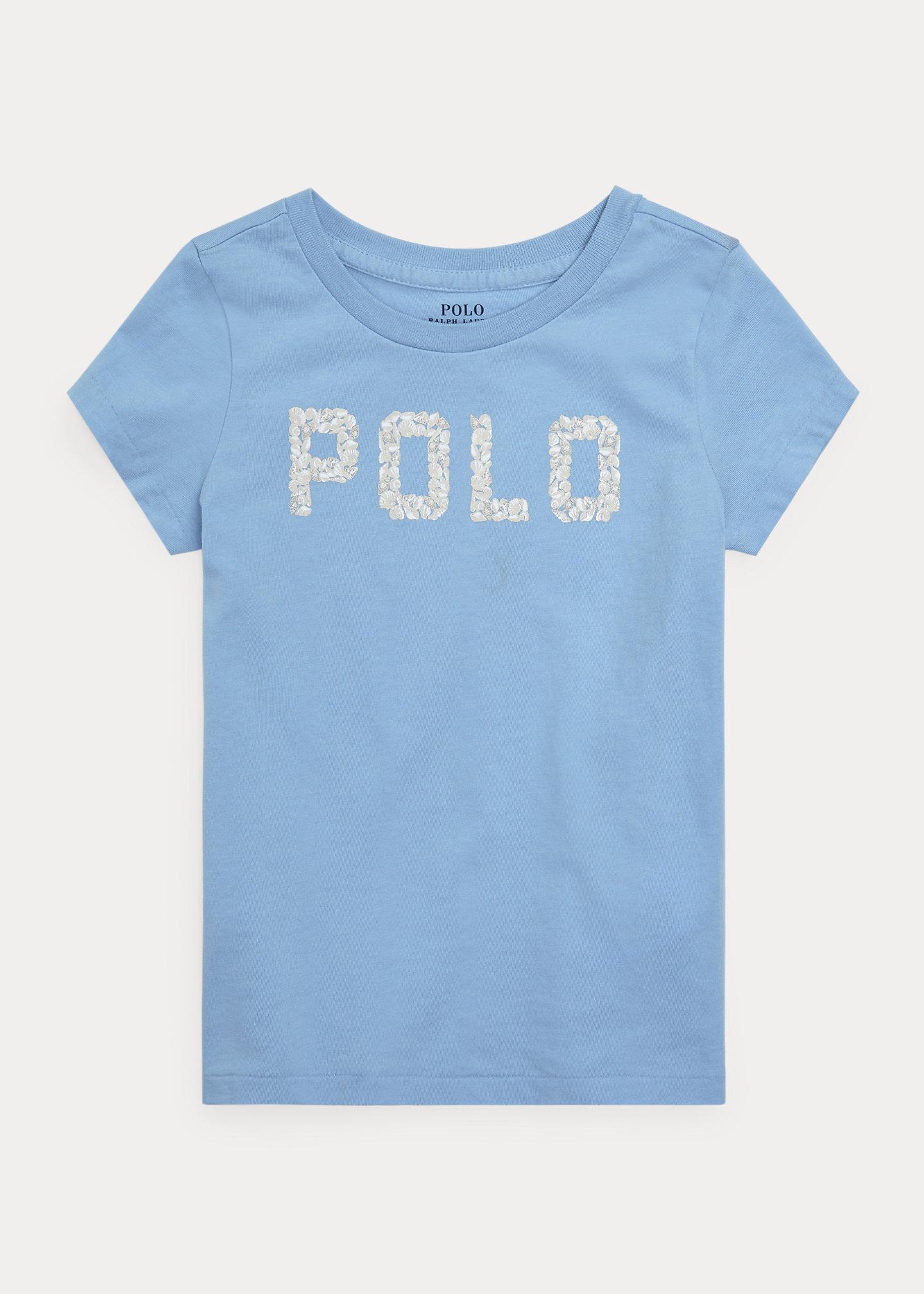Polo Ralph Lauren Seashell Logo Cotton Jersey Tee