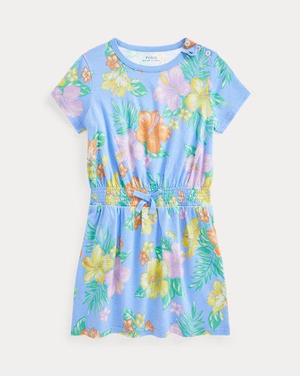Floral Cotton Jersey Tee Dress