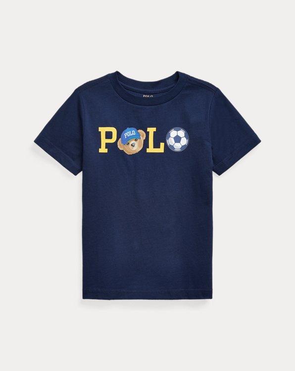 Polo Bear Logo Cotton Jersey Tee