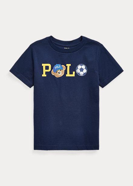 Polo Ralph Lauren Polo Bear Logo Cotton Jersey Tee
