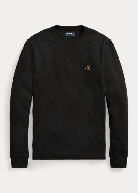 Polo RalphLauren Polo Bear Waffle-Knit Sleep Shirt