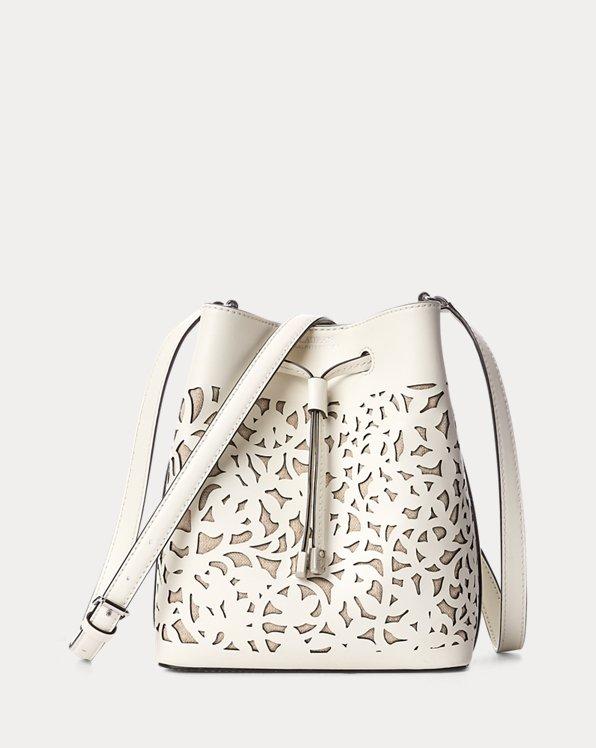 Perforated Leather Mini Debby II Bag