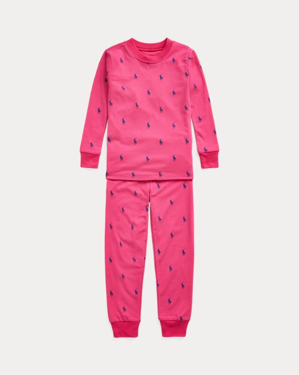 Polo Pony Stretch Jersey Sleep Set