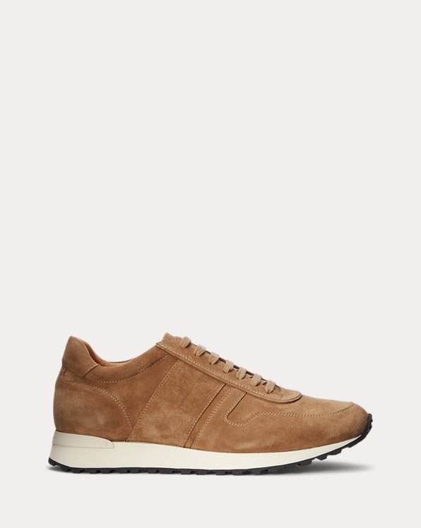 Sneaker Ethan in camoscio