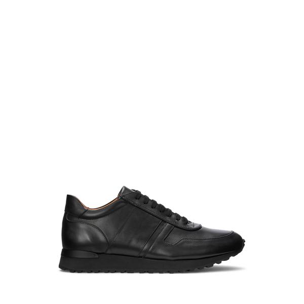 Purple Label Ethan Calfskin Sneaker In Black