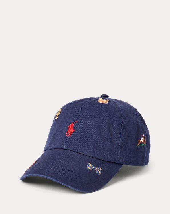 Embroidered Chino Ball Cap