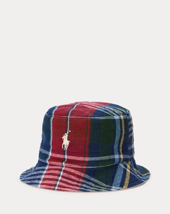 Reversible Madras Bucket Hat