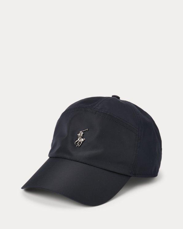 Gorra de viaje con placa con caballo