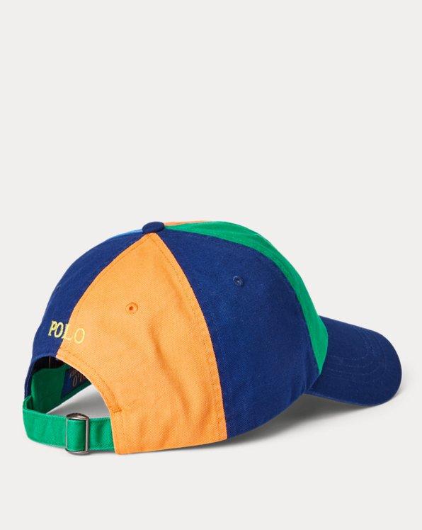 Color-Blocked Chino Ball Cap
