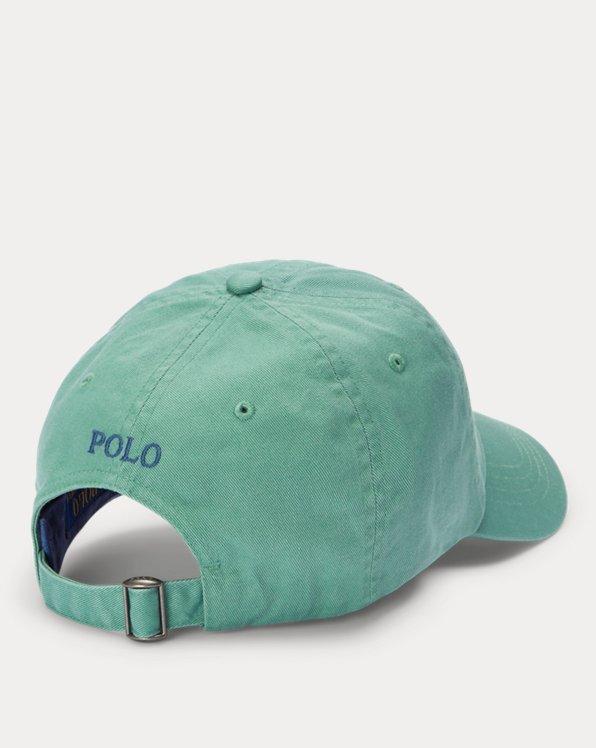 Logo Cotton Chino Ball Cap
