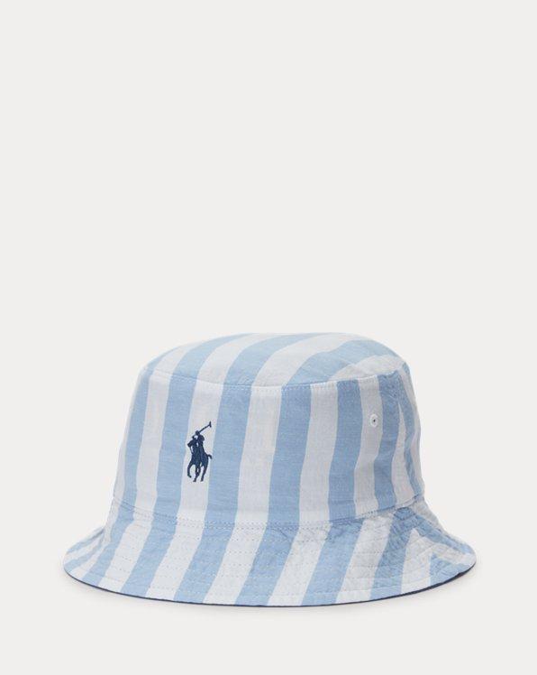 Reversible Cotton Bucket Hat