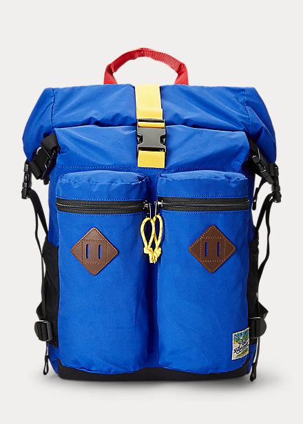 Polo Ralph Lauren Lightweight Mountain Roll Top Backpack