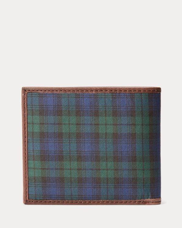 Polo Bear Tie-Silk Billfold Wallet
