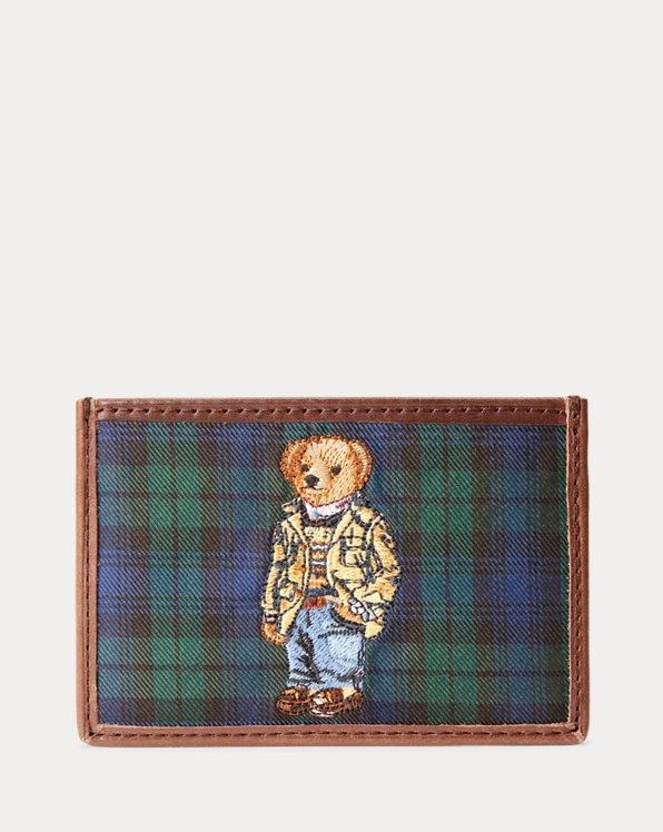 Polo Bear Tie-Silk Card Case