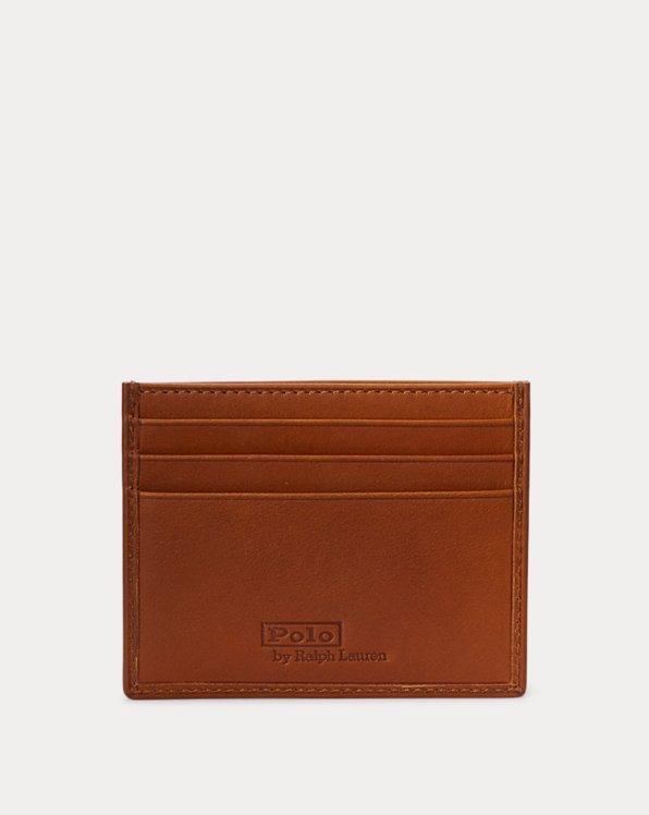 Polo Bear Leather Card Case