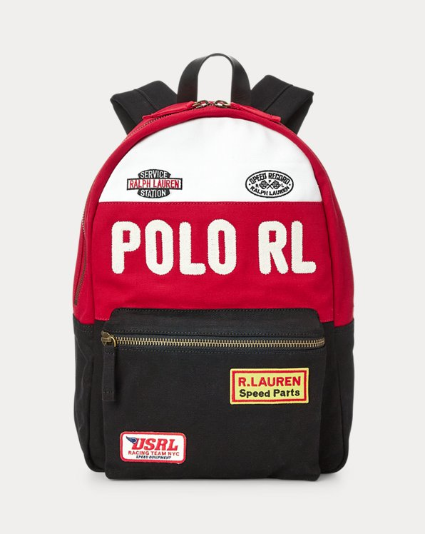 Racing Canvas Backpack