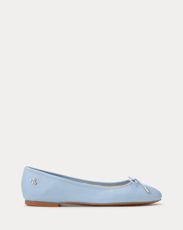 Jayna Nappa Leather Flat