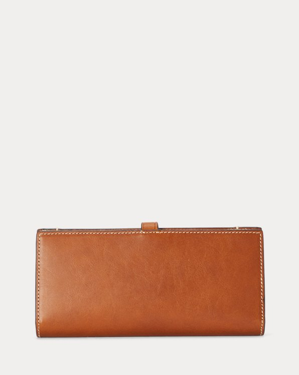Vachetta Leather Snap Wallet