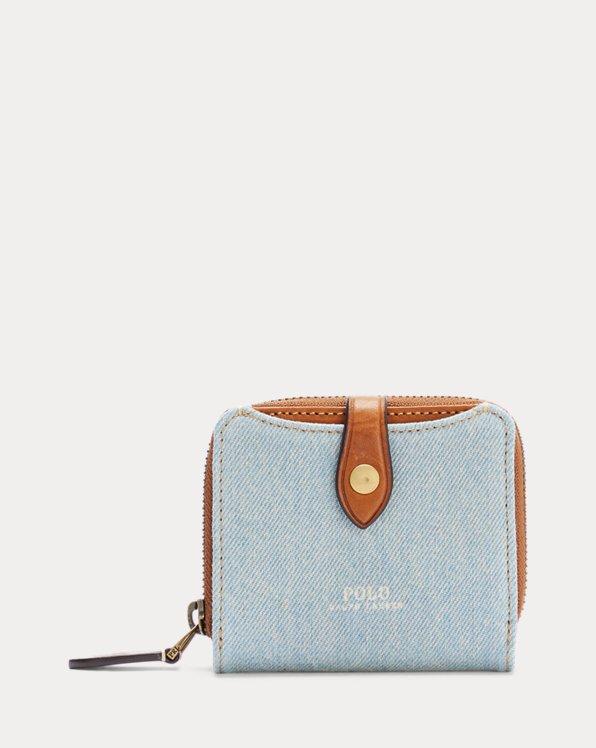 Denim Compact Wallet
