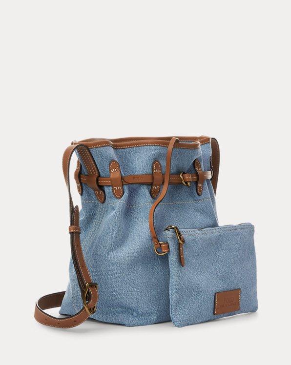 Denim Bellport Bucket Bag