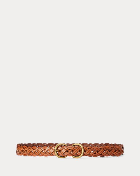 Braided Calfskin Belt
