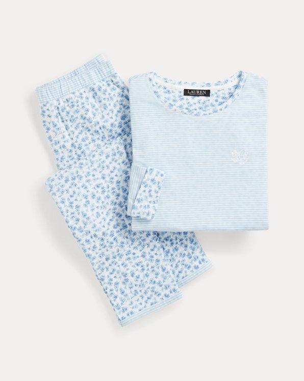 Knit Cotton-Blend Sleep Set