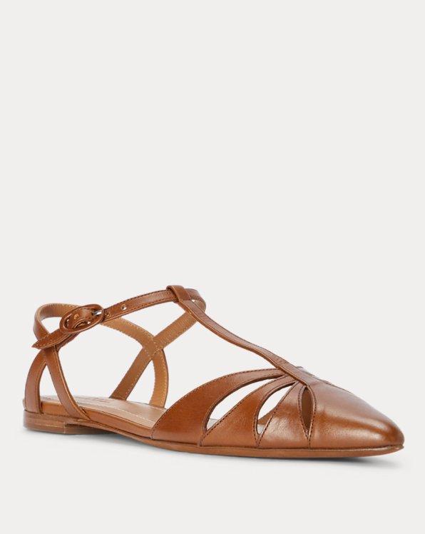 Vachetta Leather Ballet Flat