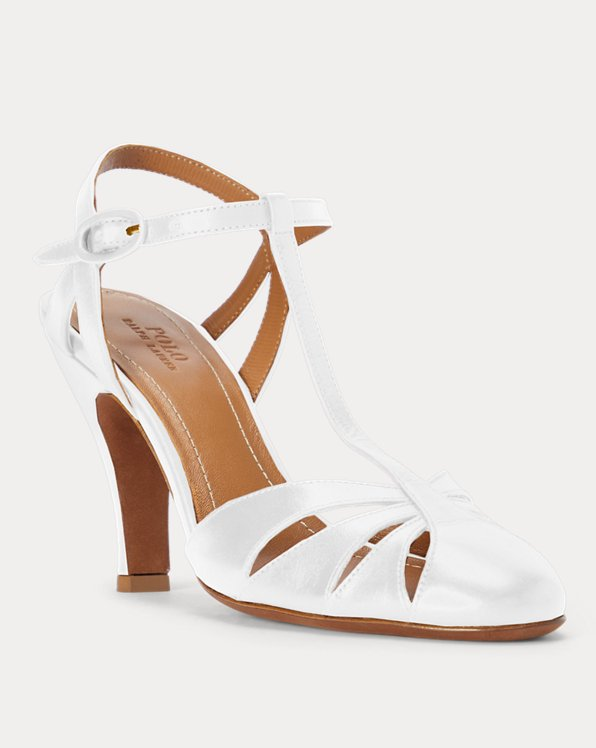 Leather Closed-Toe Sandal