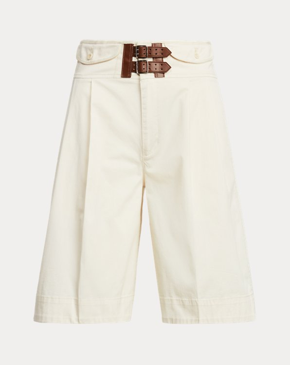 Stretch Cotton Sateen Short
