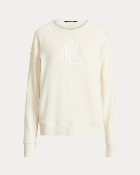 Chenille Logo French Terry Pullover