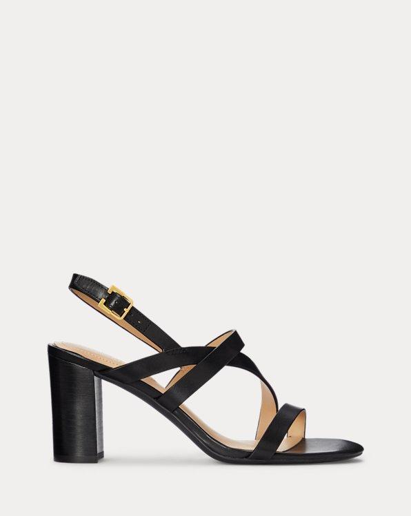Mackensie Burnished Leather Sandal
