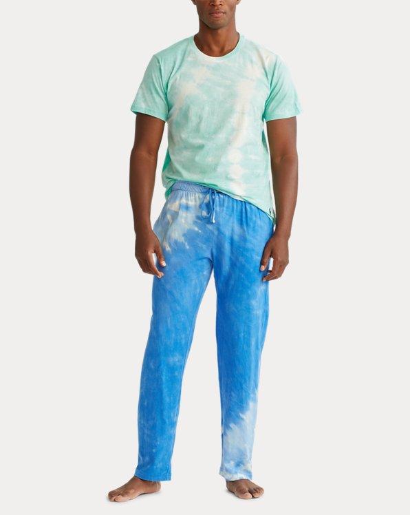Tie-Dye Cotton Jersey Sleep Shirt