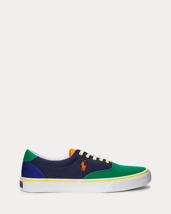 Thorton Color-Blocked Canvas Sneaker
