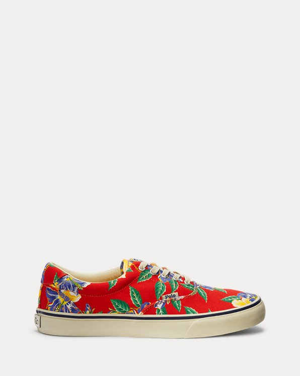 Thorton Tropical Canvas Sneaker