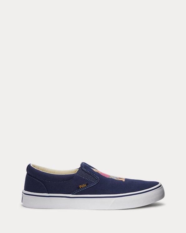 Thompson Polo Bear Canvas Sneaker