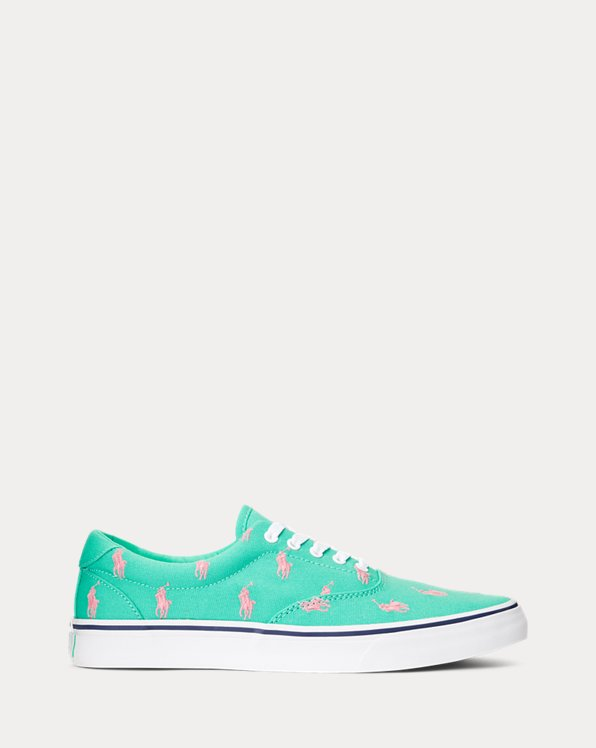 Thorton Allover-Pony Canvas Sneaker