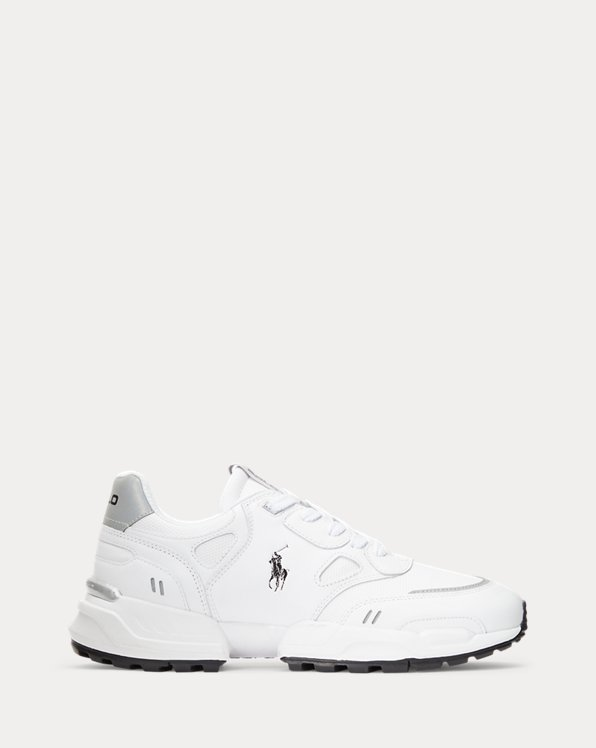 Jogger Leather-Panelled Trainer