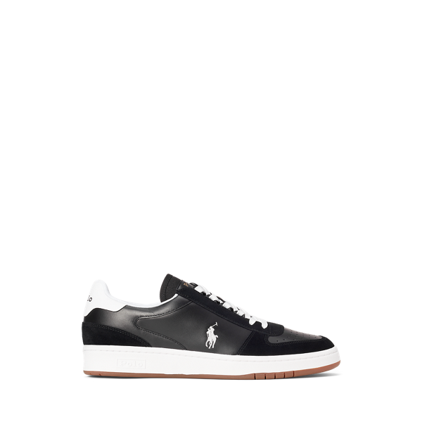 Court Leather-Suede Trainer