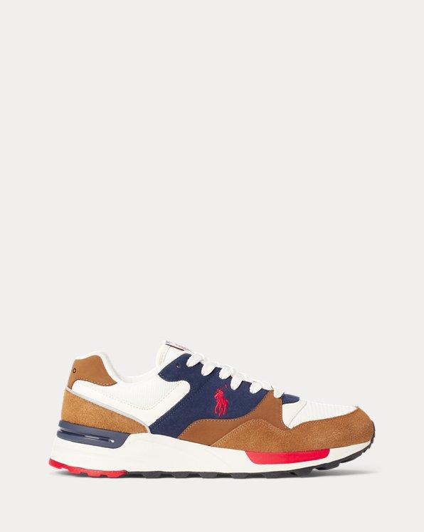 Sneaker Trackster 100 in camoscio